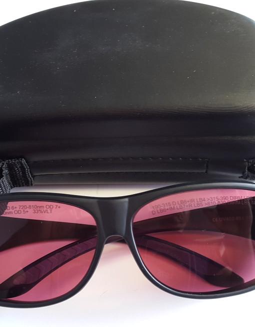 Alexandrite Laser Safety Glasses