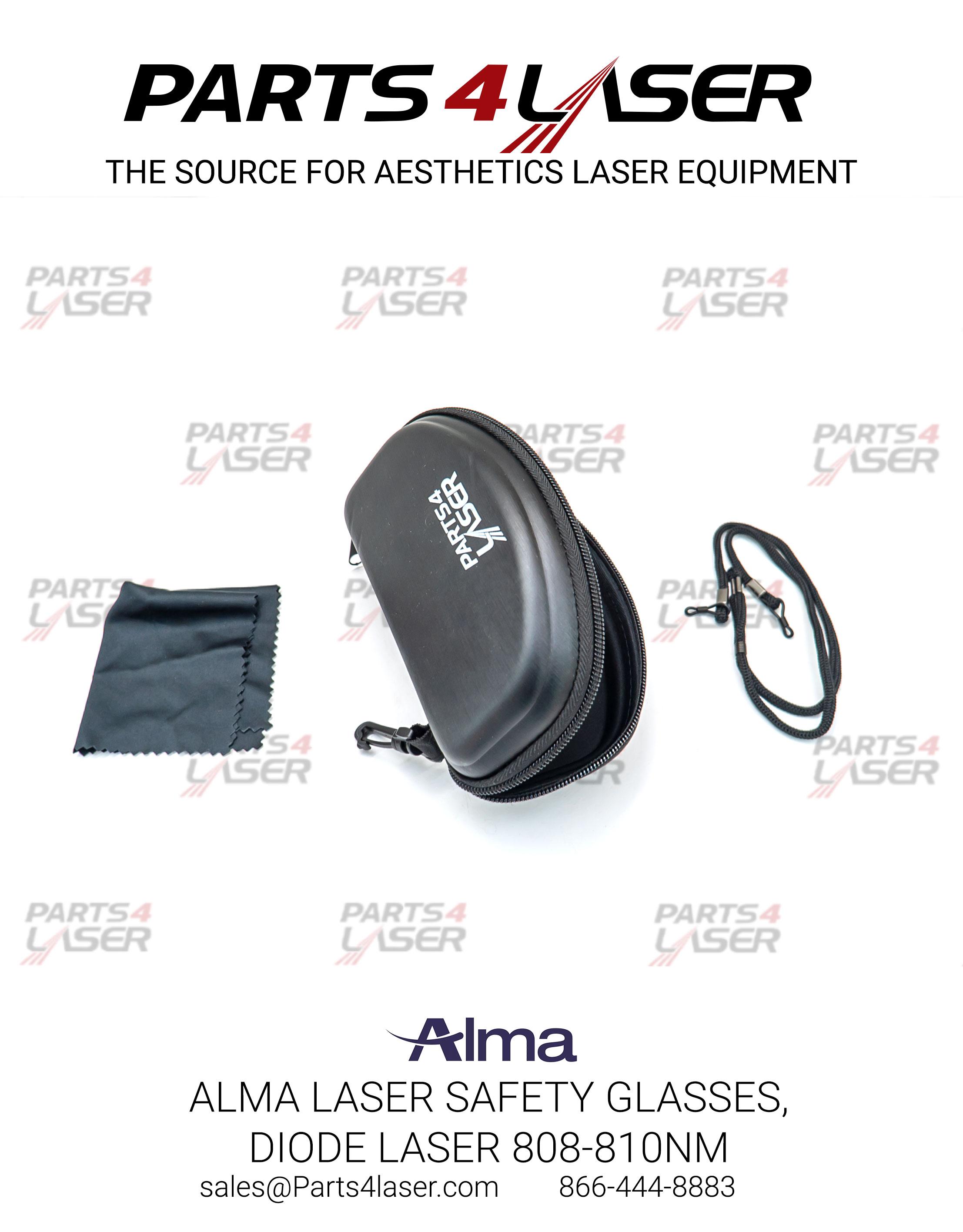 ALMA LASER SAFETY GLASSES, DIODE LASER 808-810nm