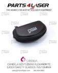 Candela Gentlemax Alexandrite Laser Safety Glasses 755