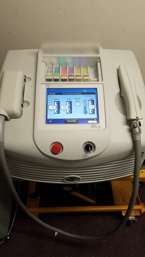 Sciton Bbl Machine Broadband Light Parts4laser